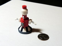 Quilled Tom Servo MST3K